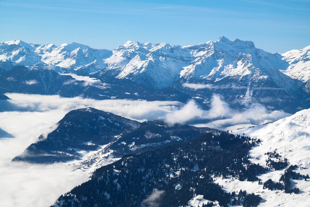 Verbier skiing photo diary Switzerland