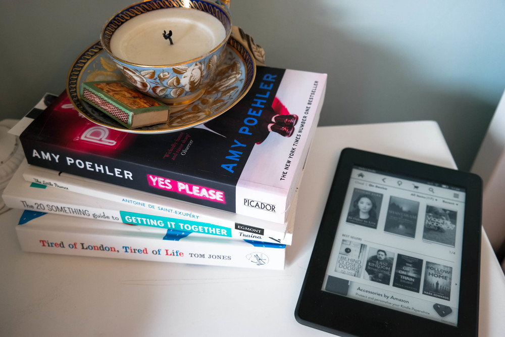 Kindle Paperwhite and book recommendations