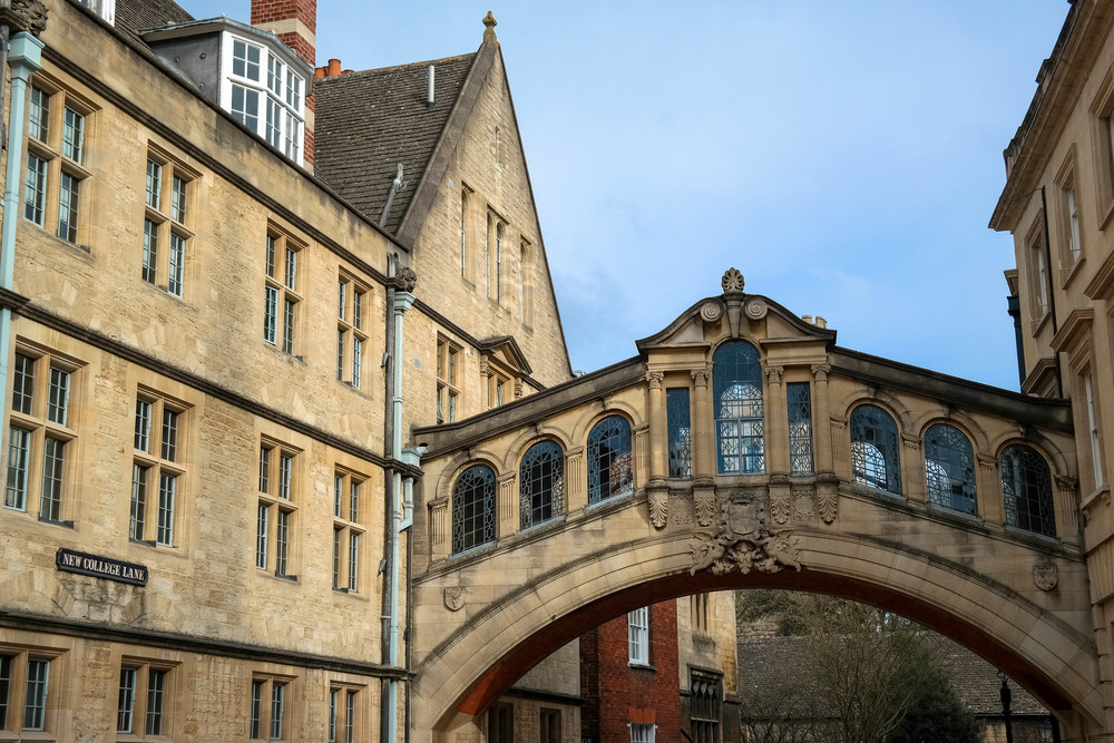 Weekend in Oxford