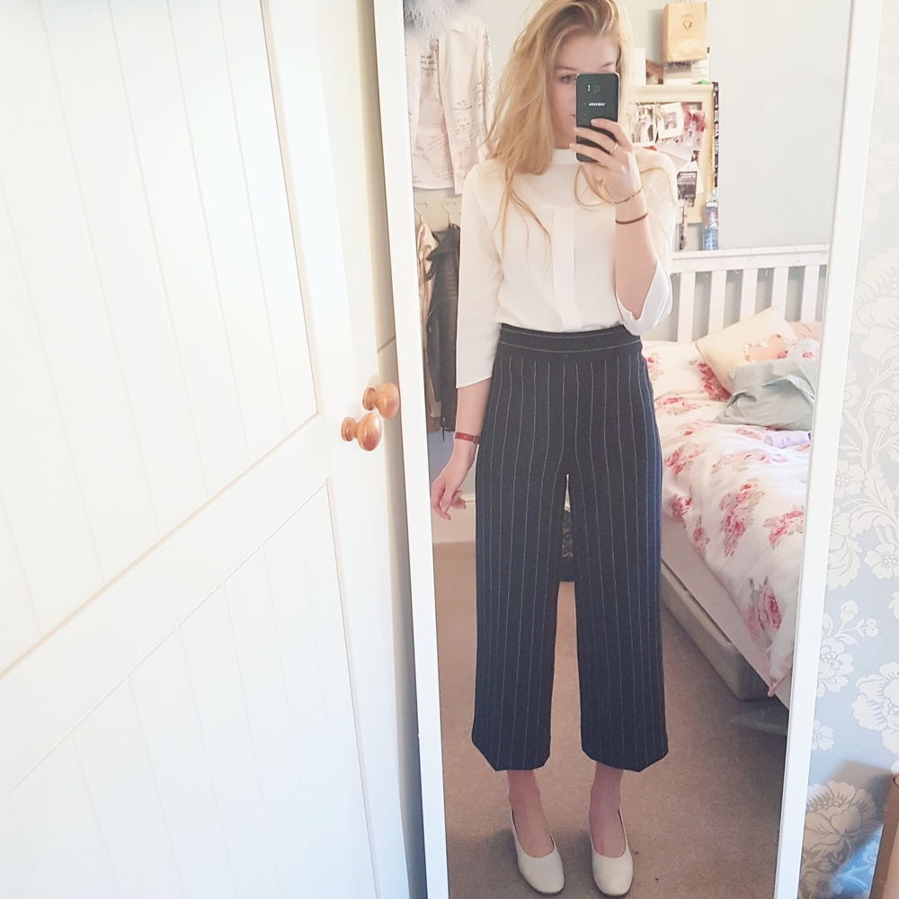 Daily work outfits for my internship