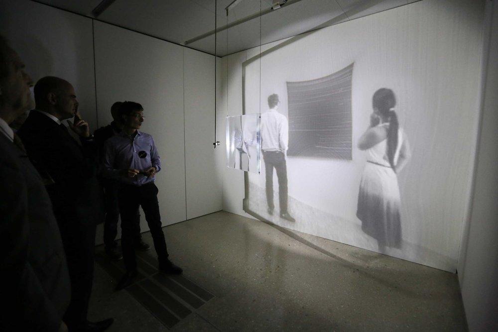 Visit of Alain Berset