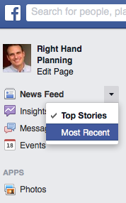 How to change Facebook News Feed