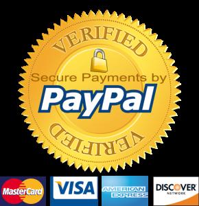 PayPal Verified ensures site trust