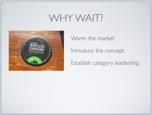 Warm the market to be category leader