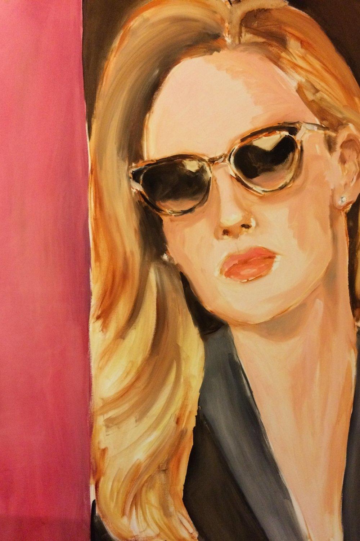 Sunglasses:  Cartier (SOLD)