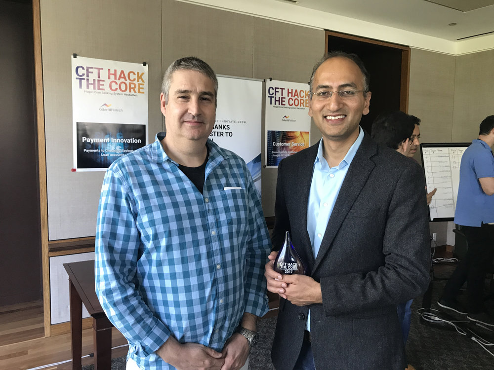 Winning One of the Top Awards from CeleritiFinTech CEO Oded Shoshany