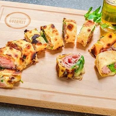 Les Piadinas - Un incontournable du Comptoir Gourmet.Découvrir les piadinas >