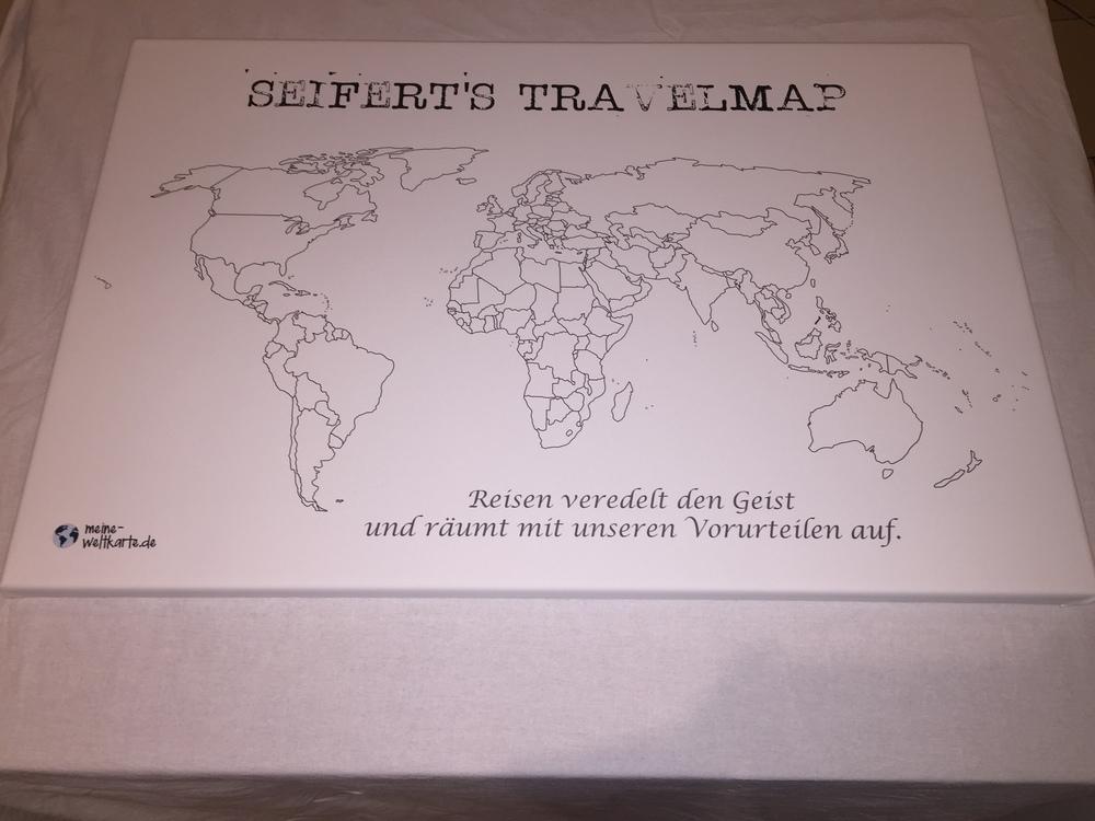 Weltkarte zum Ausmalen wo man schon war.JPG