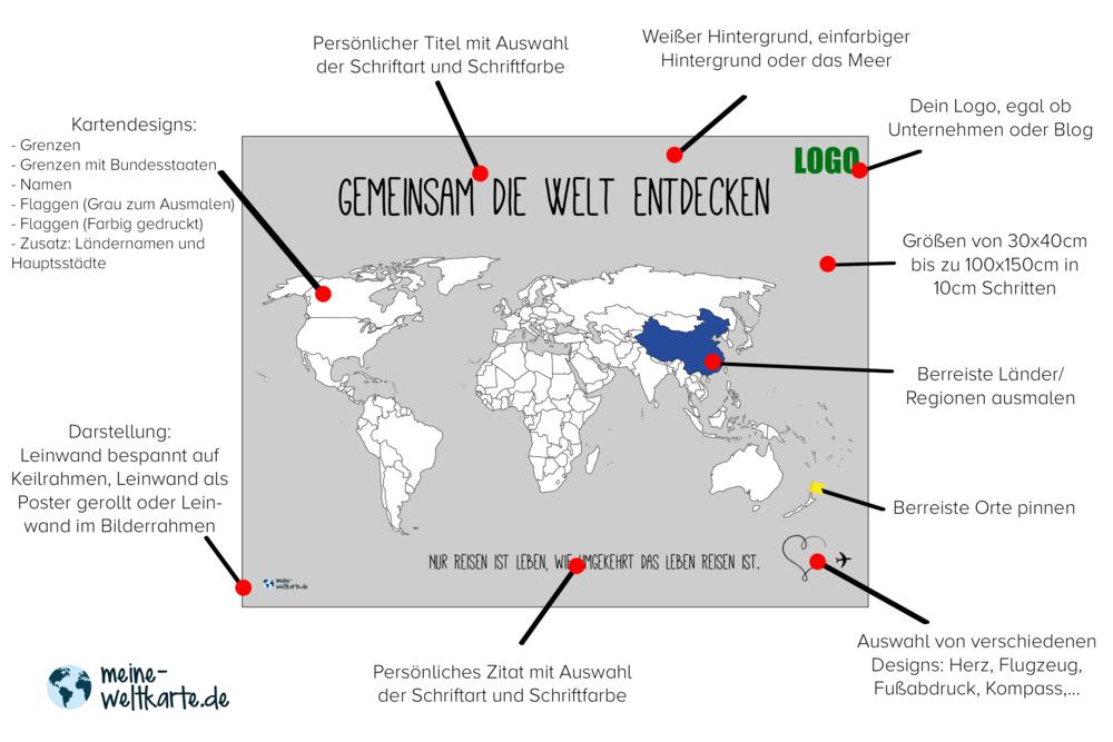 Ungewöhnlich Malvorlage Der Weltkarte Mit Ländern Galerie - Ideen ...