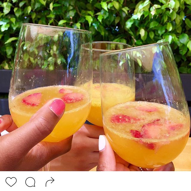 Brunch with us!! #ontheporch#mimosamorning#yesplease