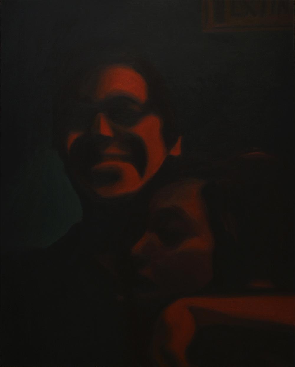 Tonalá, Bogotá2014    2015  Acrílico sobre lienzo  150 x 120 cms