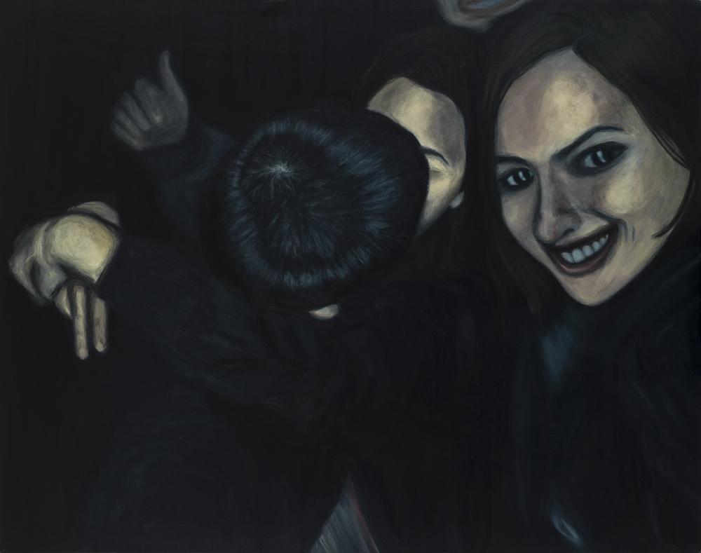San Jorge, Buesaco 2014    2015  Acrílico sobre lienzo  165 x 130 cms