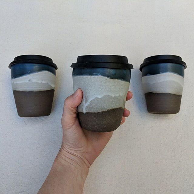 Come get a beautiful mug at @neighborscorner from the amazing @erin_hupp_ceramics