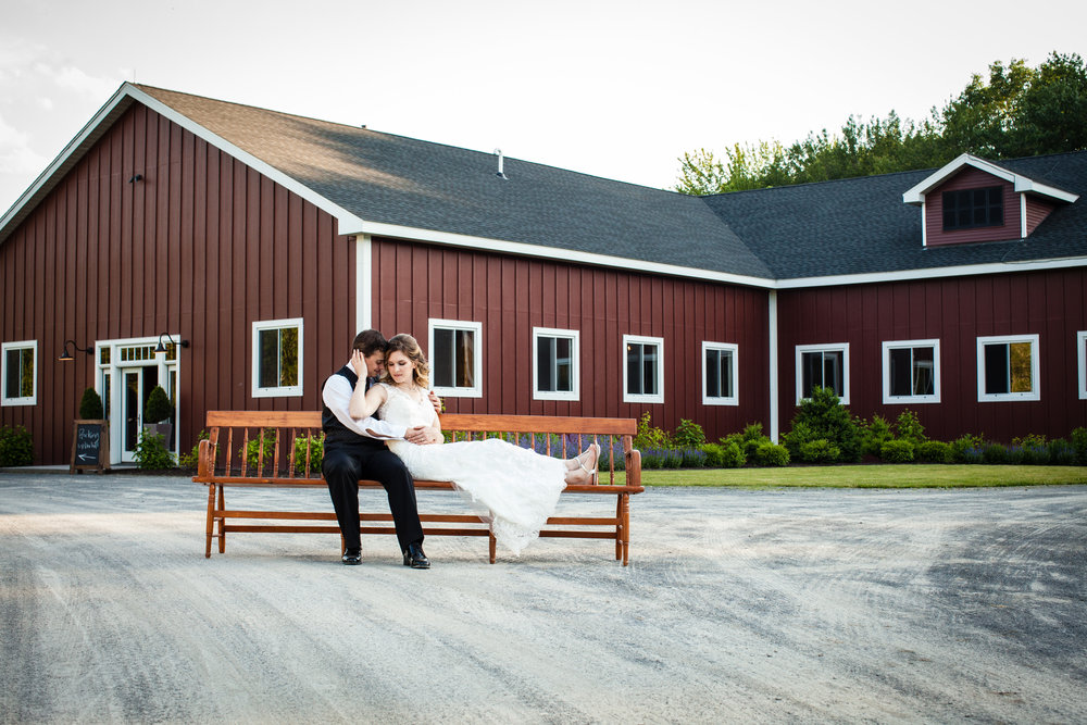 B+G on bench in front of barn.jpg