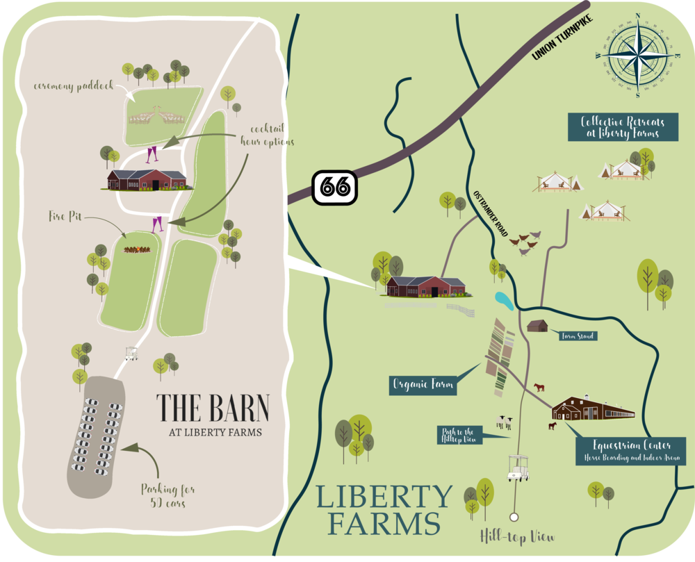 Liberty Farms Property Map
