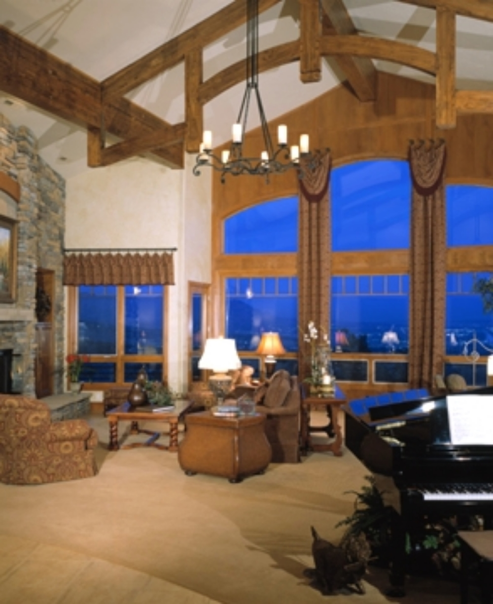Soaring Ceilings and Stunning Views