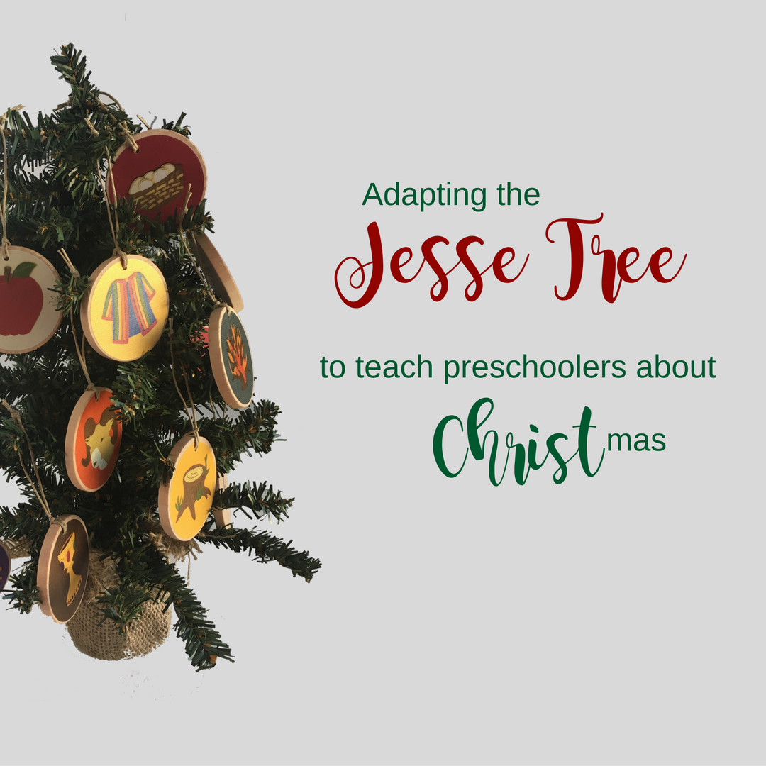 The Advent Jesse Tree: Jesse Tree Ornament Ideas | Jen Schmidt | 1080x1080