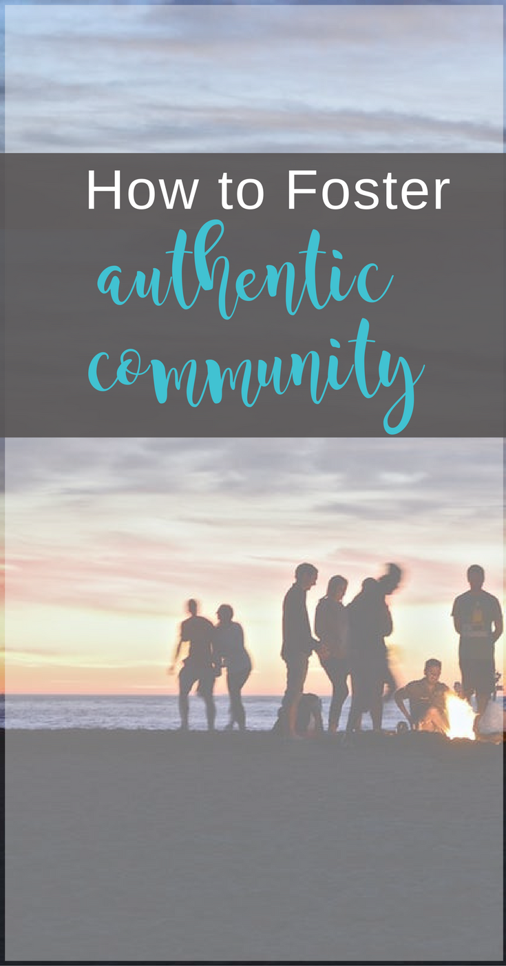 Tips for fostering authentic Christian community | Scripture Confident Living