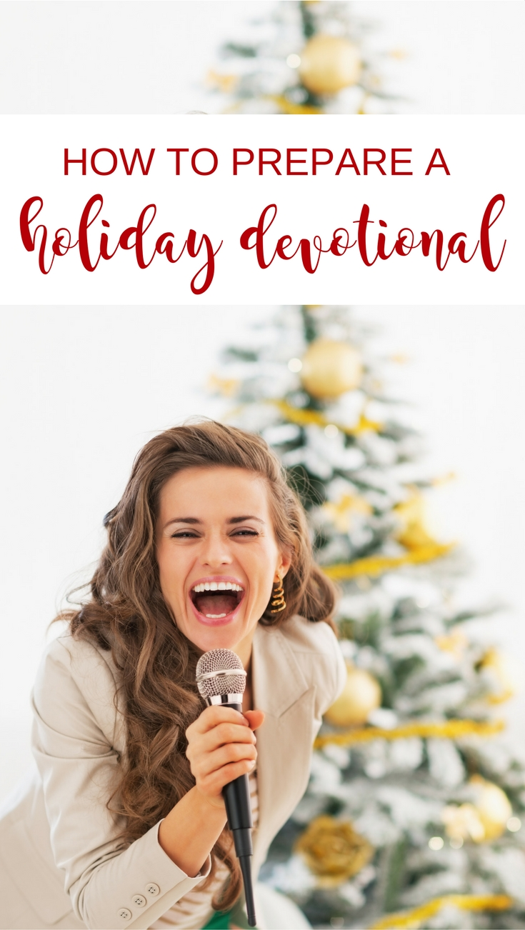 If you have been invited to give a holiday devotional message or want to add a spiritual emphasis to your Christmas or Thanksgiving party, check out this articles for tips on how to prepare your message. | Scripture Confident Living