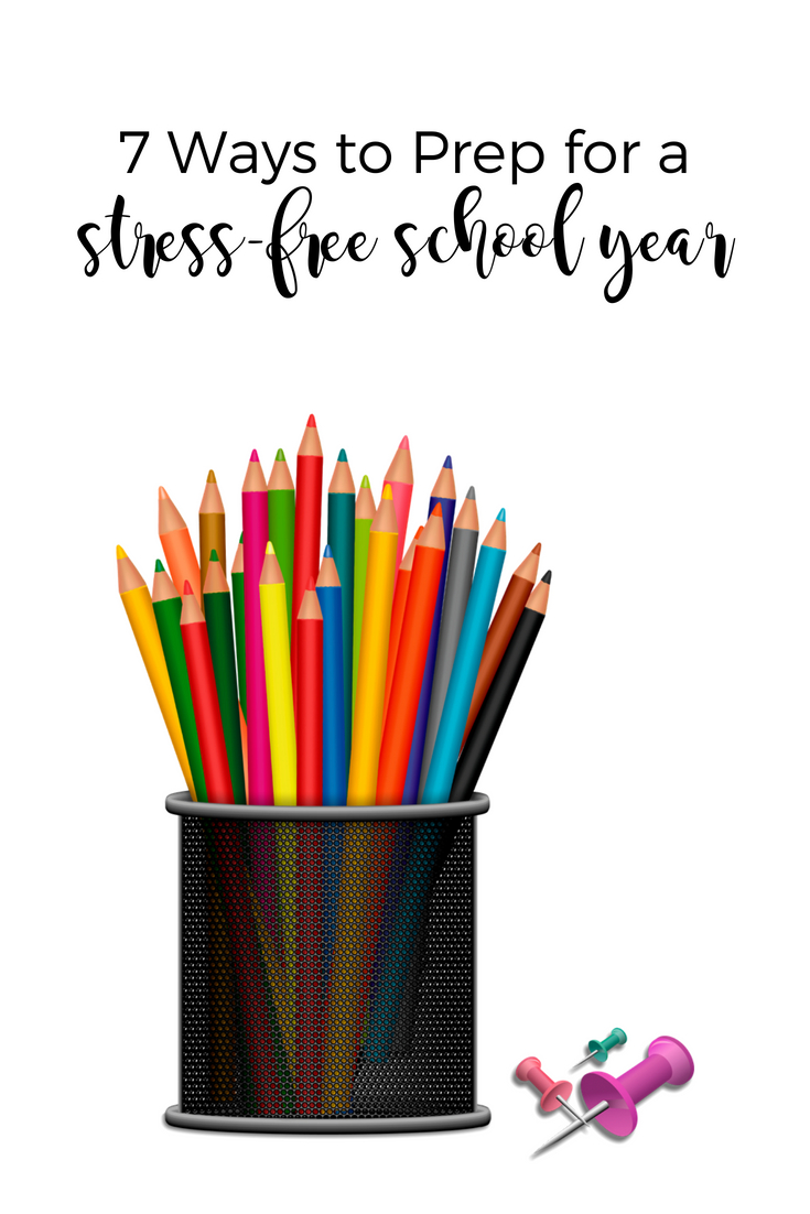 Get ready for the school year without stressing. | Scripture Confident Living