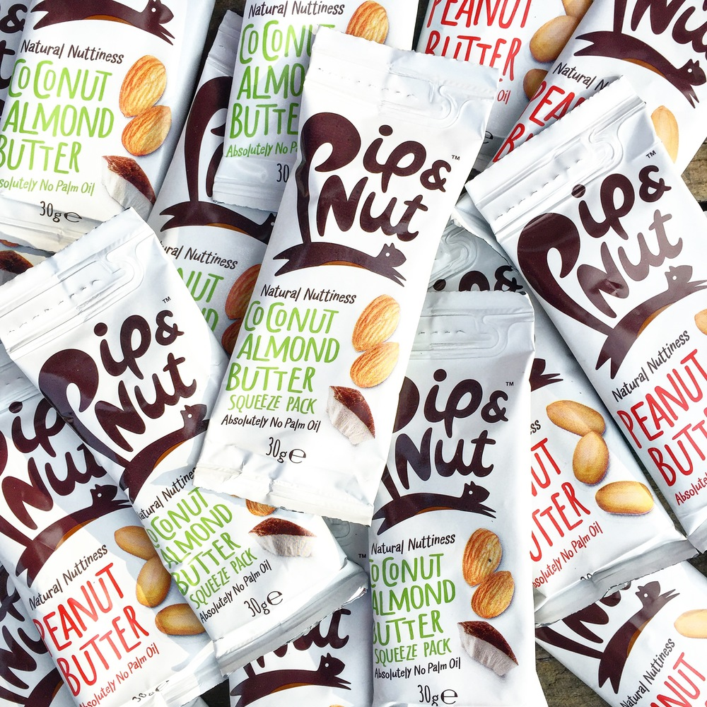Pip and Nut Squeeze Packs