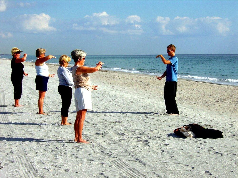 Sifu Falko teaching a class in Florida
