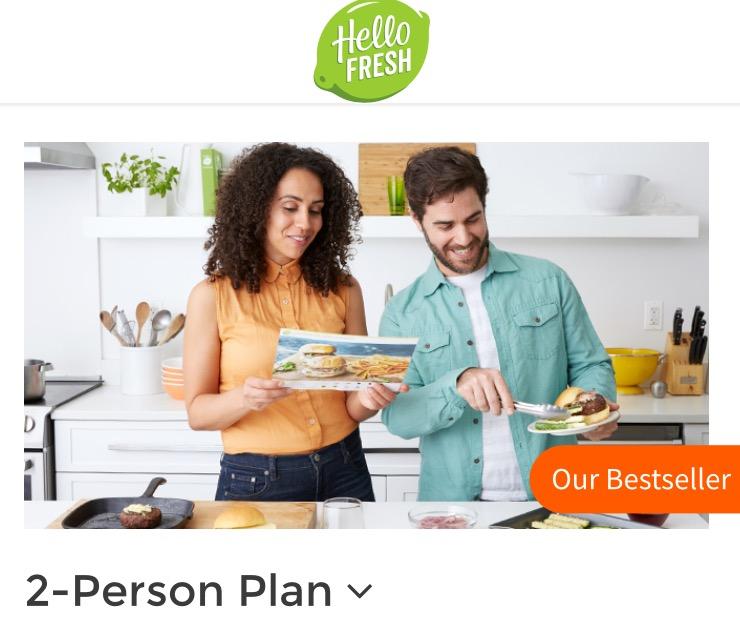 """Hello Fresh"" Print Ad"