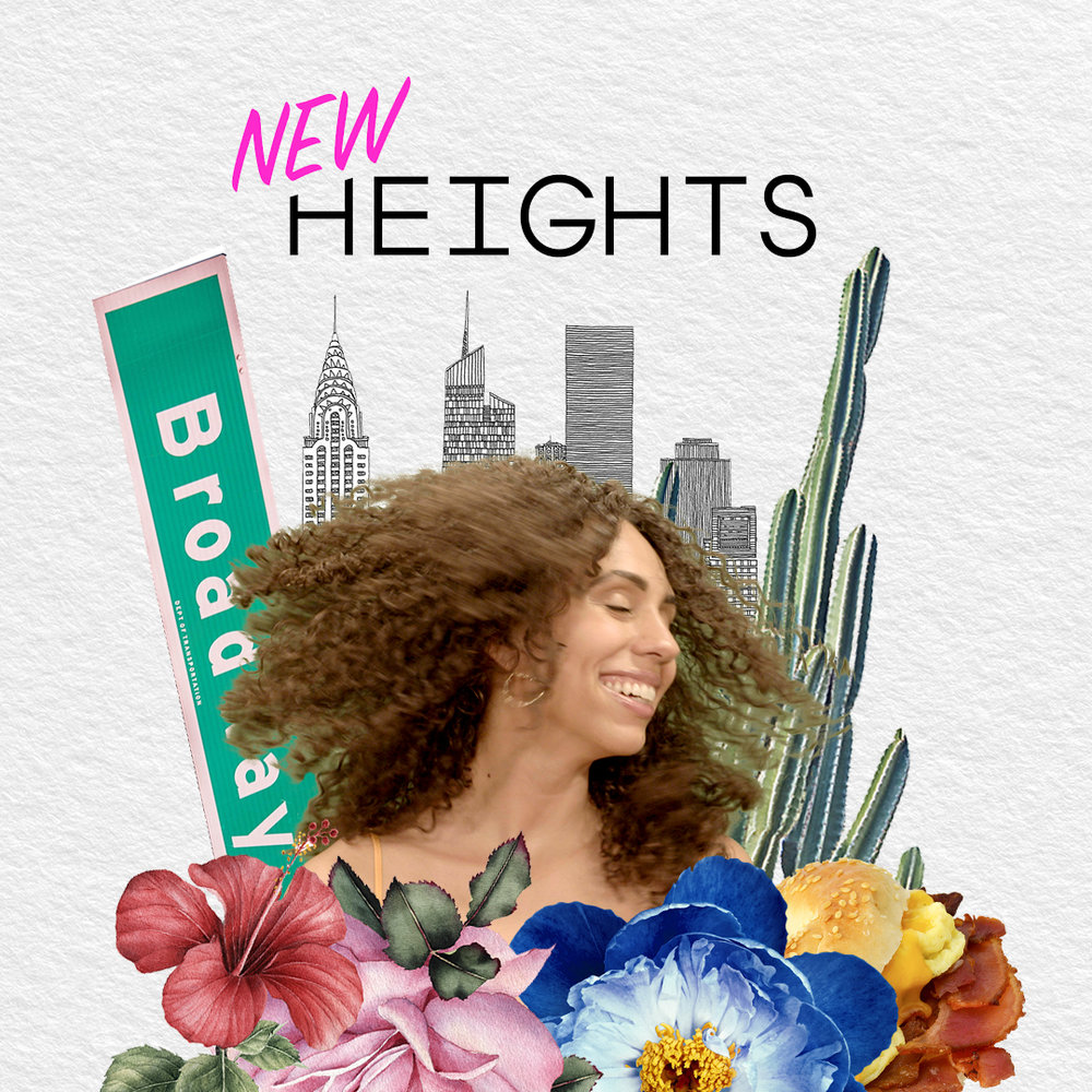 """New Heights"" Webseries Promo Poster"