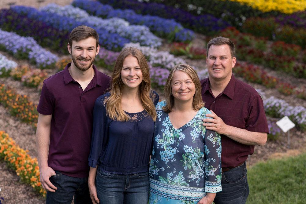 Old Fort Collins High School - Annual Flower Trial Garden