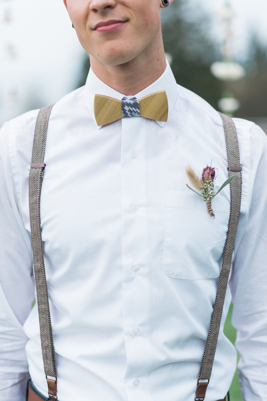 Bohemian Groom Tie
