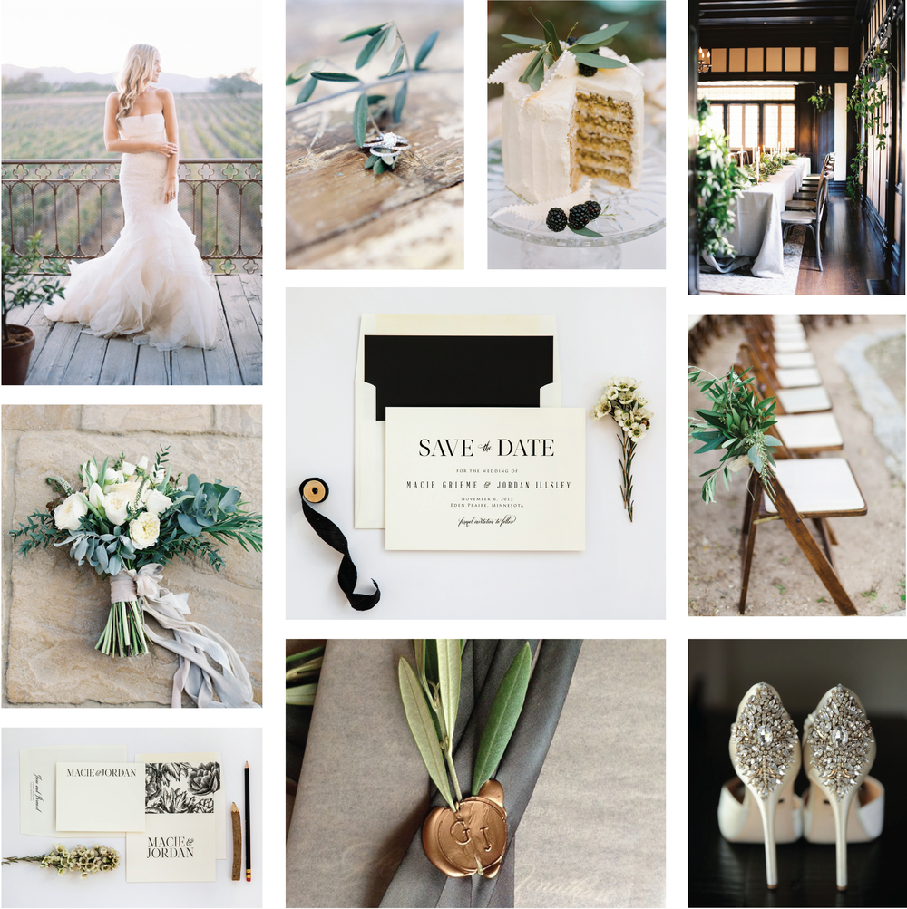 Rustic Wedding Inspiration by Champagne Press
