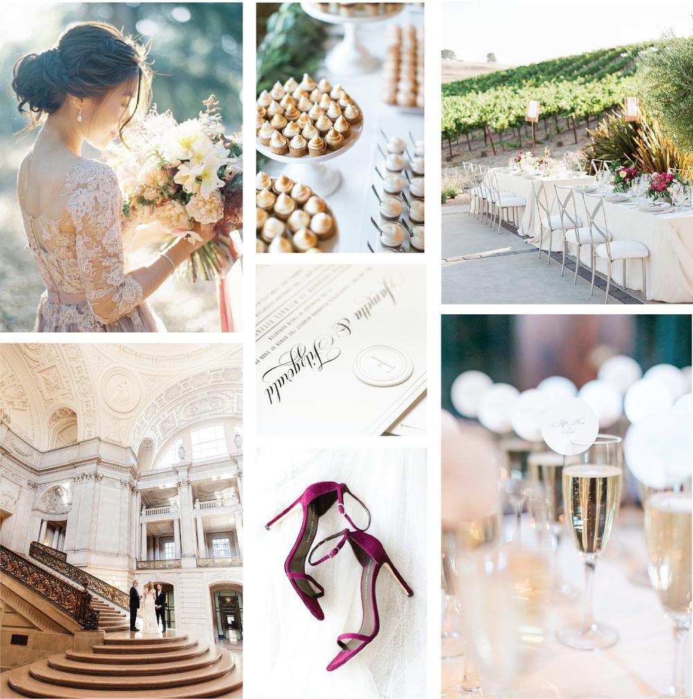 Wax Invitation Suite — Champagne Press