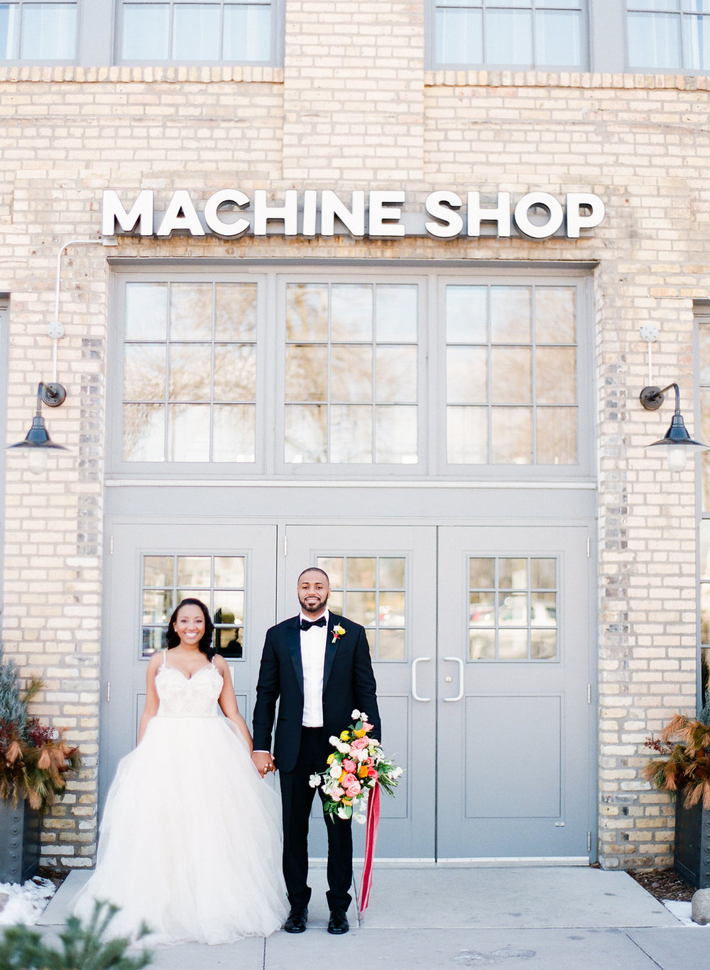 Machine Shop Styled Shoot