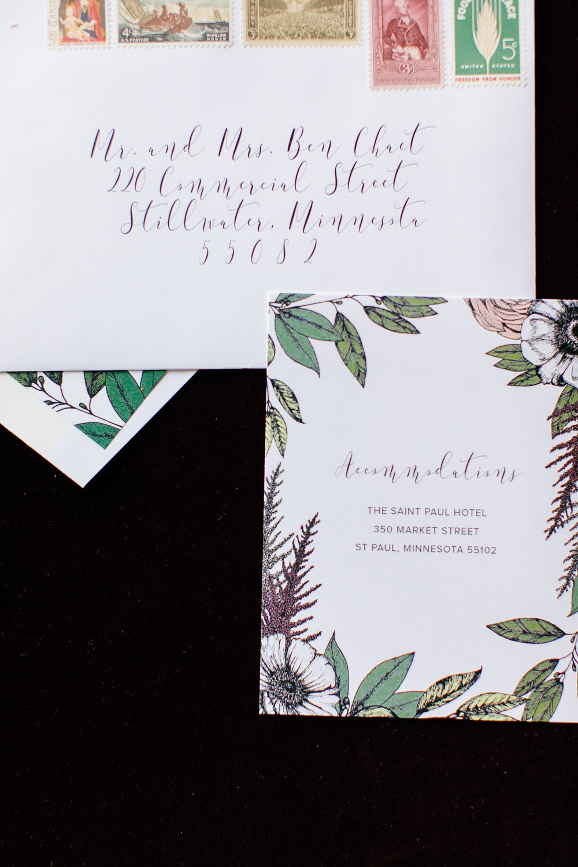 Champagne Press Custom Wedding Invitation