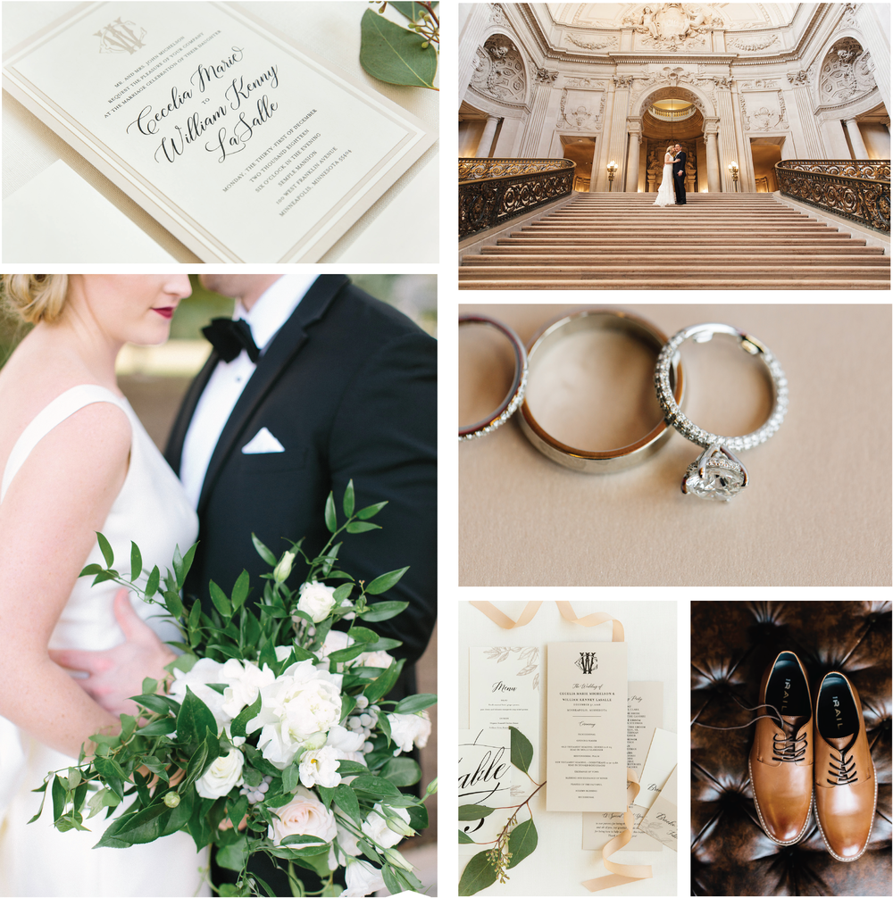 Neutral Wedding Invitation Inspiration