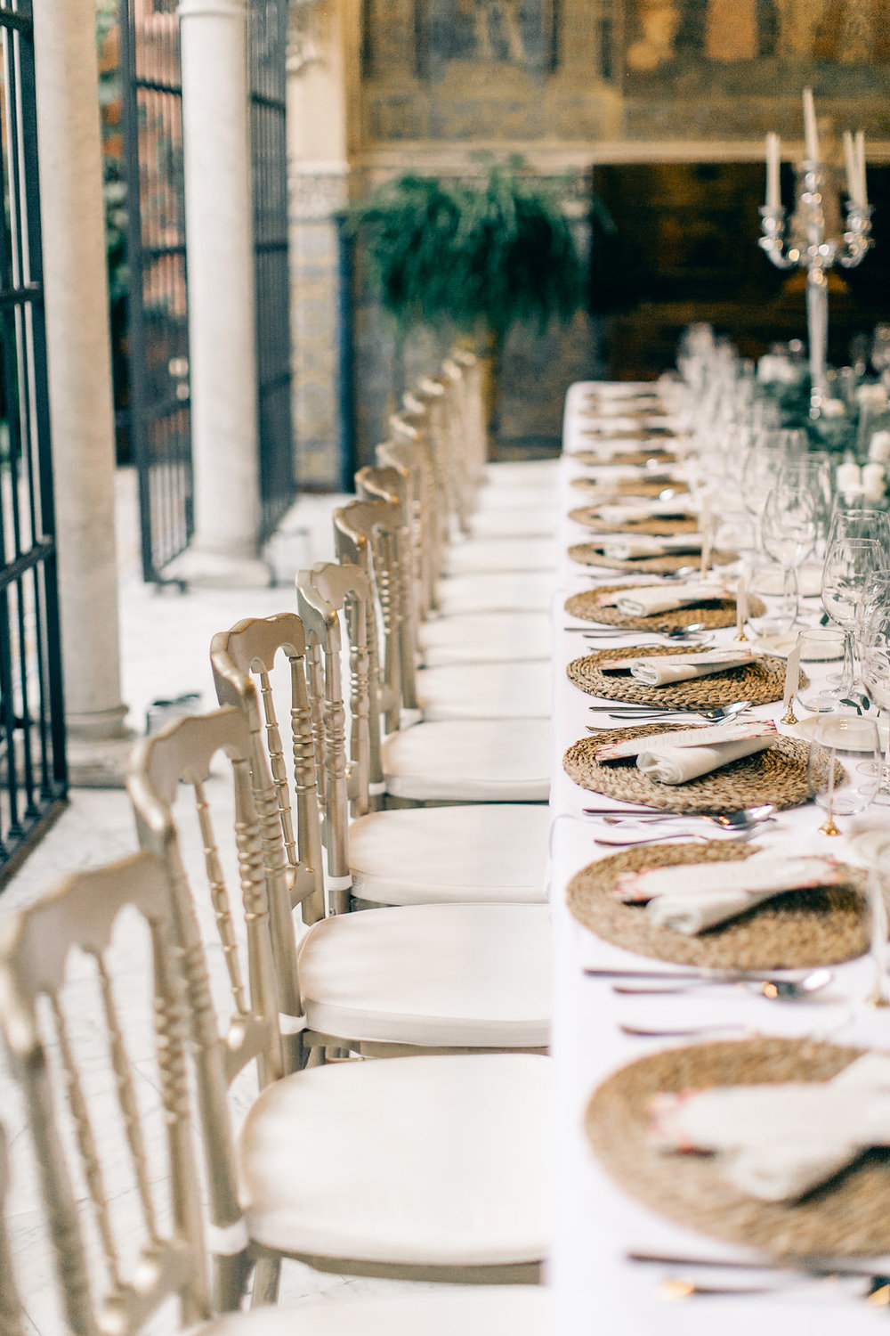 Tablescape Spain Luxury Wedding Vienna Glenn Wedding Photography
