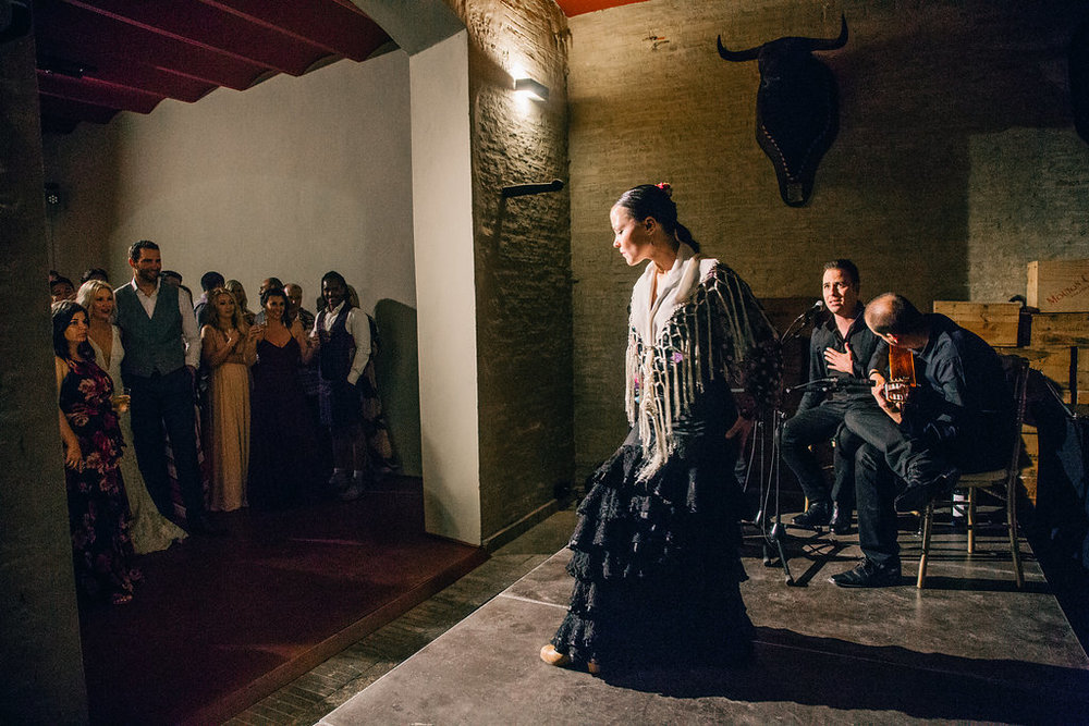 Flamenco Dancer Casa de Guardiola Sevilla Spain Vienna Glenn Photography