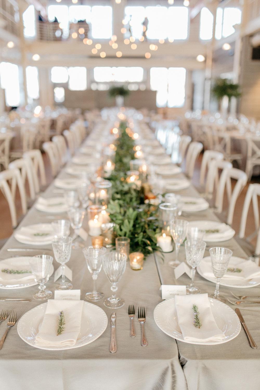 Machine Shop Wedding Tablescape Design See Jane Plan Munster Rose Floral