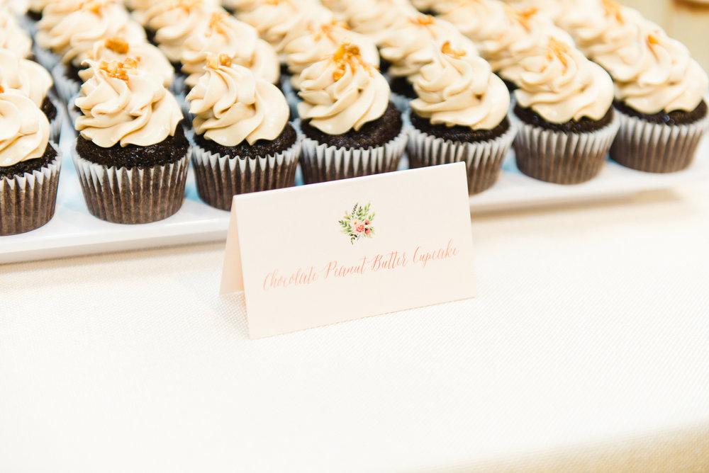 Farina Baking Company Cupcakes Champagne Press Dessert Signage