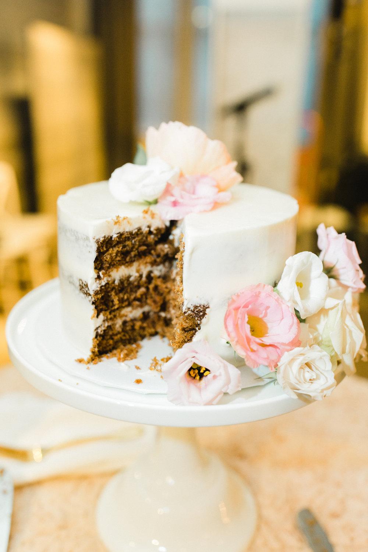 Farina Baking Company Wedding Cake Gina Zeidler Photography
