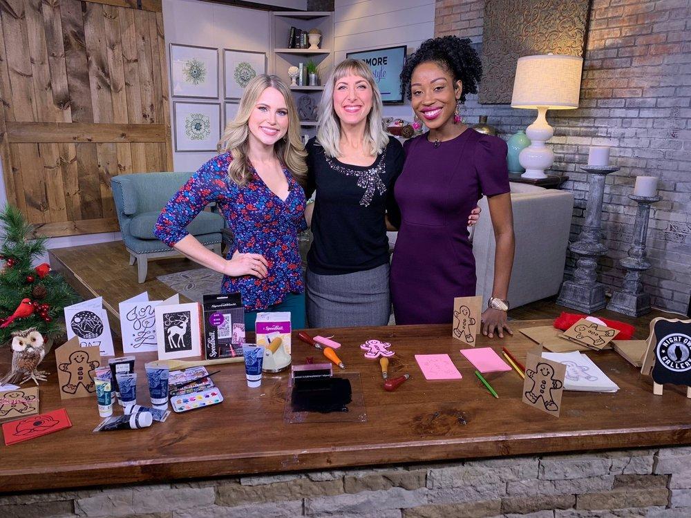 Bmore Lifestyle November 2018  left to right: Christina Denny, Beth-Ann Wilson, Chardelle Moore