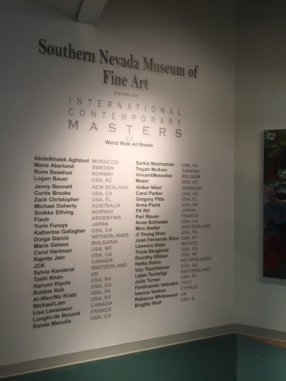 VEGAS MUSEUM OF ARTS
