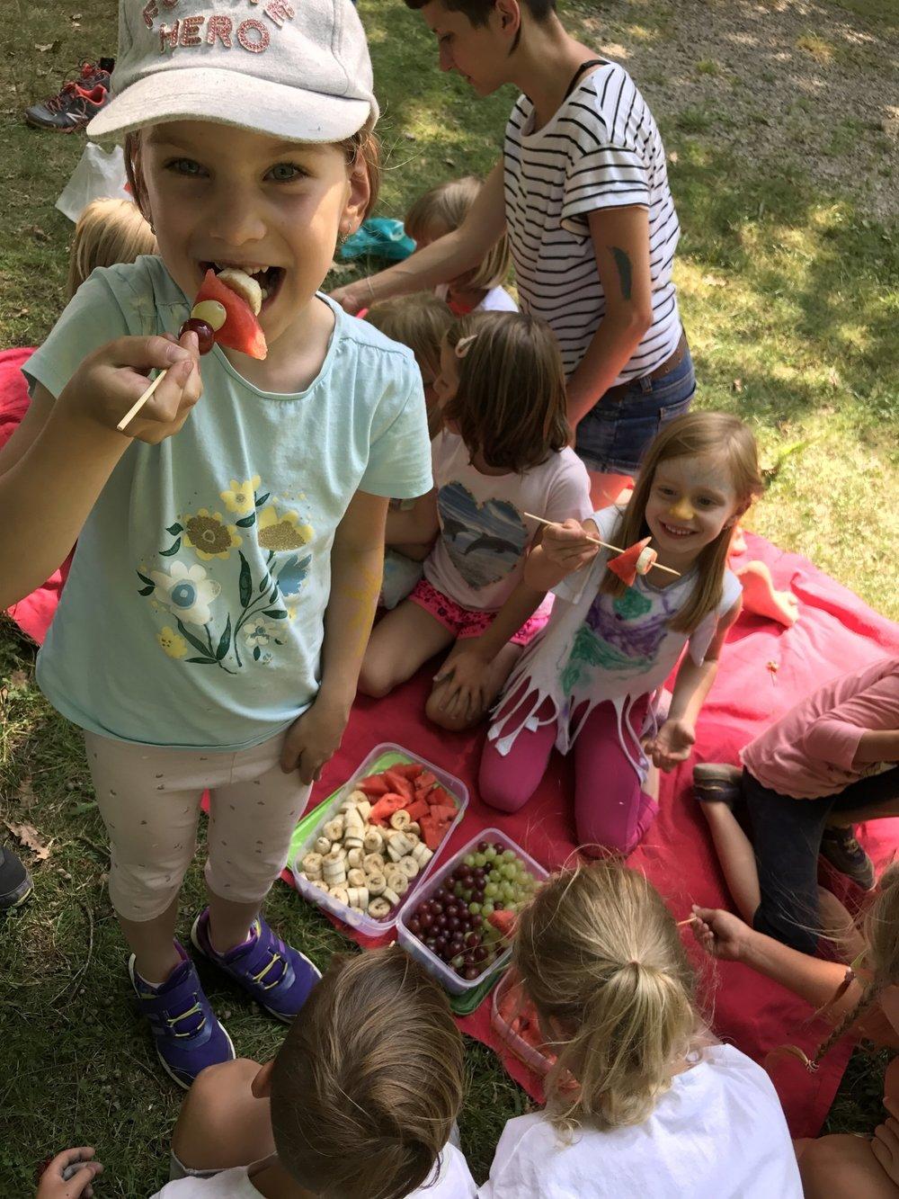 Zdravé stravování tábor Little Bubbles