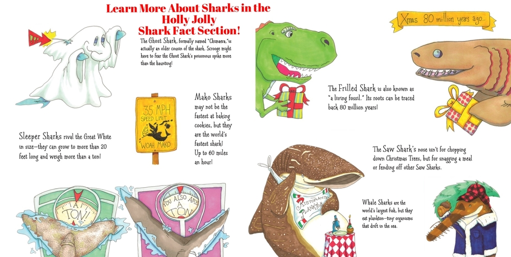 Education: Holly Jolly Shark Facts