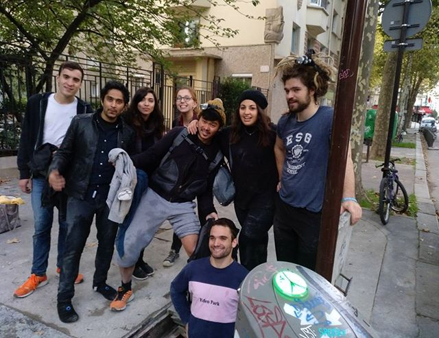 Première descente du HackerHouse Team!! #paris #catacombes #exploring #hacker #fight #12 #hours #night #halloween
