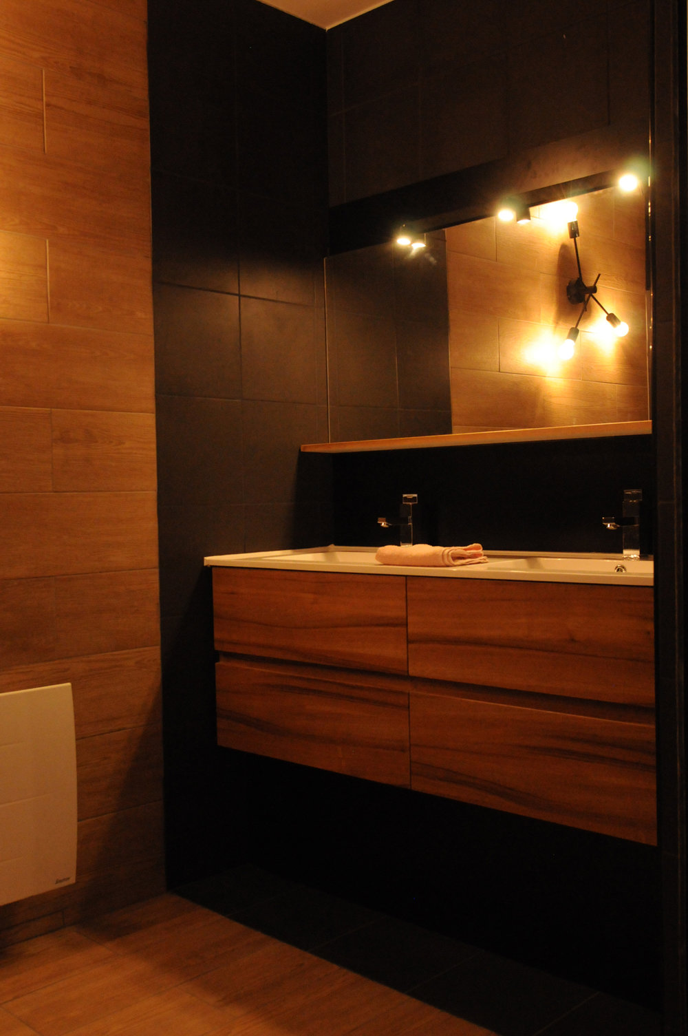 Douche privée chambre double