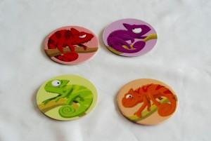 Color Clash chameleon tiles