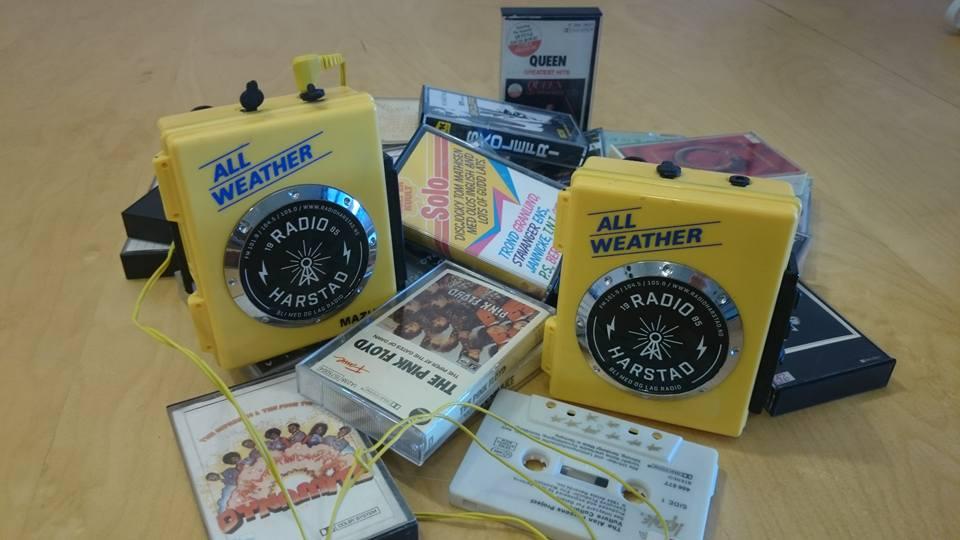 Følg med i tiden, kjøp en Radio Harstad Walkman! kun 795,-