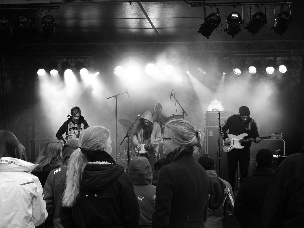 Changeling på scenen under Park-Rock 2016. Foto: Terje Nygård.