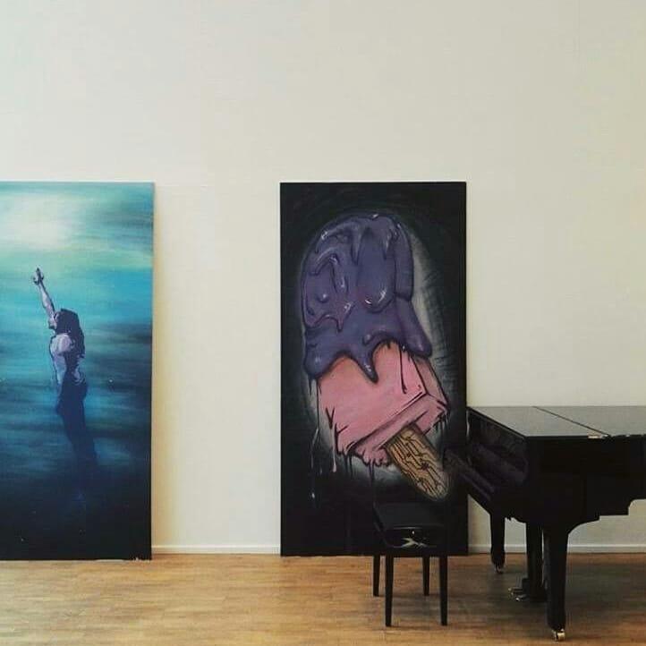 Noen av kunstverkene du kan se i galleri Nord Norge